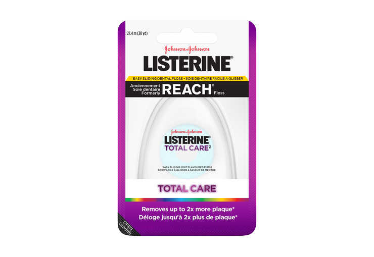 Soie dentaire facile à glisser LISTERINE TOTAL CARE®